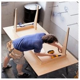 Сборка столов по низким ценам в Оренбурге от специалистов
