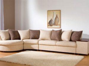 Перетяжка углового дивана на дому в Оренбурге